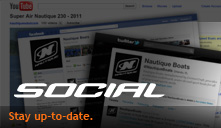 Nautique Social Networks, Facebook, youtube, Flickr...